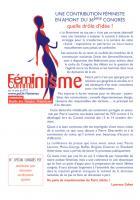 Le féminisme ne tue pas !